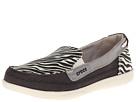 Crocs - Walu Wild Graphc Loafer (Black/Stucco) -