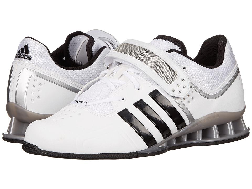 adidas - adipower Weightlift (Core White/Black/Tech Grey Metallic) Men