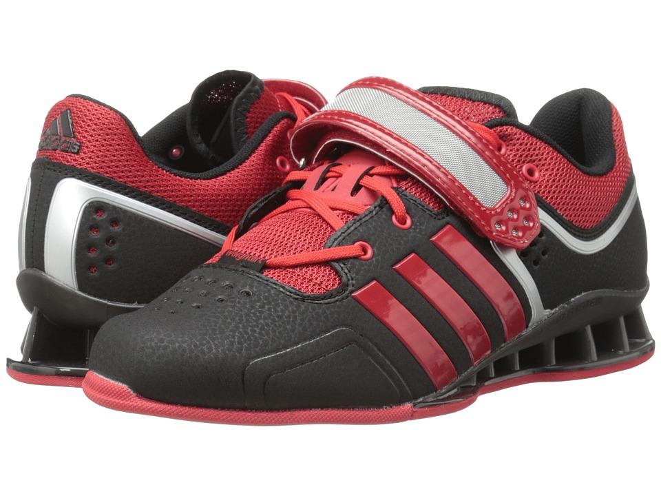 adidas - adipower Weightlift (Black/Scarlet/Tech Grey Metallic) Men