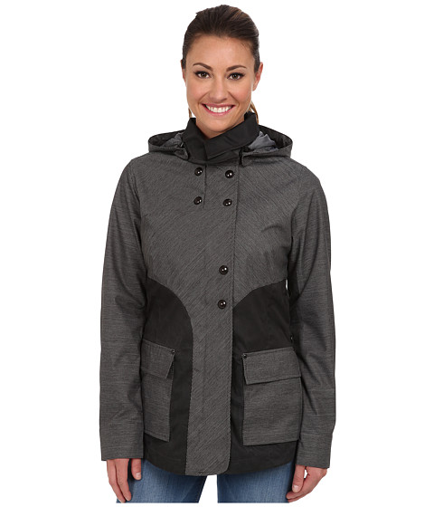 Royal Robbins Mobilizer Trench (Jet Black) Women's Coat