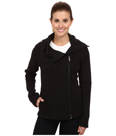 Royal Robbins Ponte Fleece Travel Jacket (Jet Black) Women's Jacket