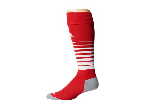 adidas Team Speed Soccer Sock - University Red/White