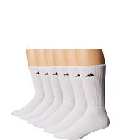 adidas - Athletic 6-Pack Crew Socks