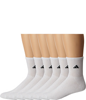 adidas - Athletic 6-Pack Mid-Crew Socks