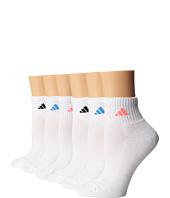 adidas - Athletic 6-Pair Quarter Socks
