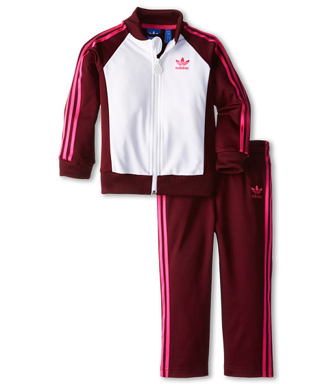 Adidas Originals Kids Superstar Wp Tracksuit Infant Toddler Shipped Free At Zappos
