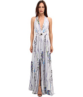 Versace Collection - Graphic Print Maxi Dress