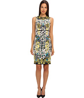 Versace Collection - Graphic Print Sheath Dress