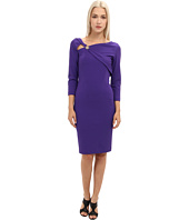 Versace Collection - Asymetrical Neckline 3/4 Sleeve Dress