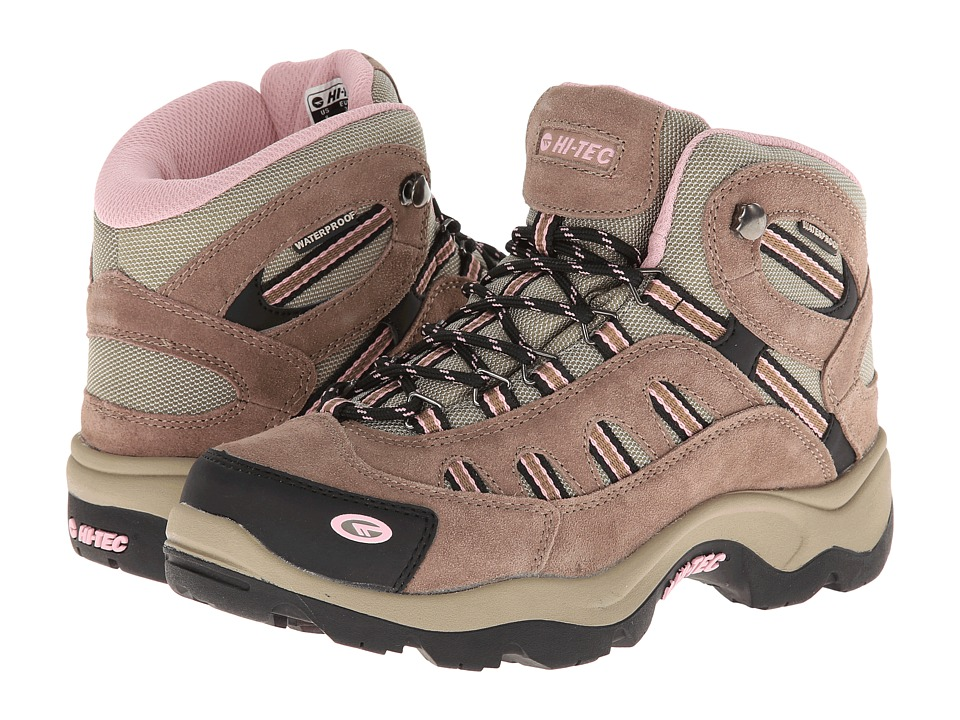 Hi-Tec - Bandera Mid WP (Taupe/Blush) Womens Shoes