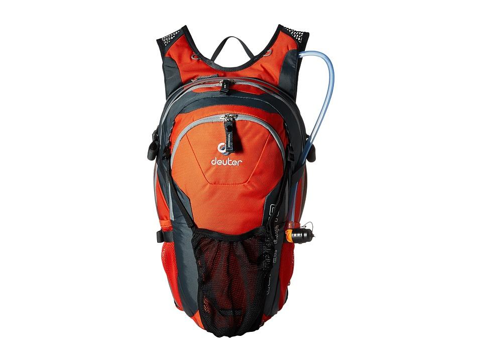 Deuter Compact EXP Air 10 w/ 3L Res. Papaya/Granite Bags