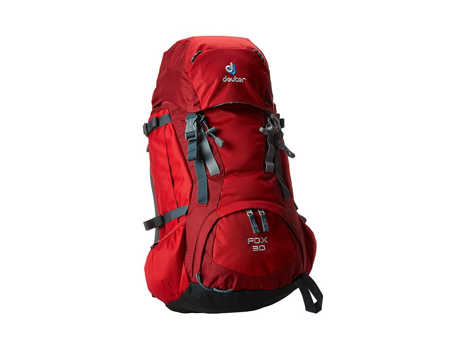 Deuter Fox 30 Youth Fire/Cranberry Backpack Bags