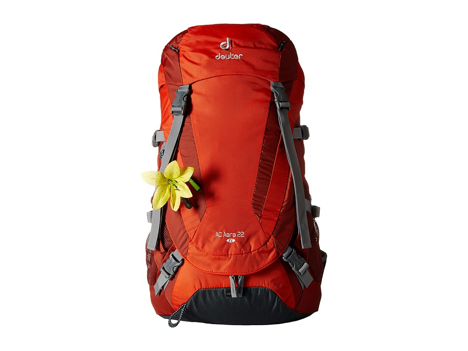 Deuter - AC Aera 22 SL (Papaya/Lava) Backpack Bags