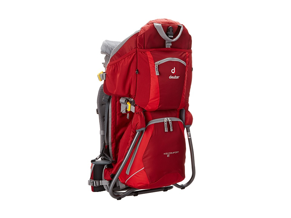 Deuter Kid Comfort 2 Child Carrier (Cranberry/Fire) Backp...