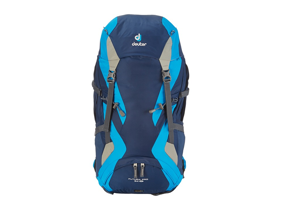 Deuter Futura Pro 34 SL Midnight/Turquoise/Silver Backpack Bags