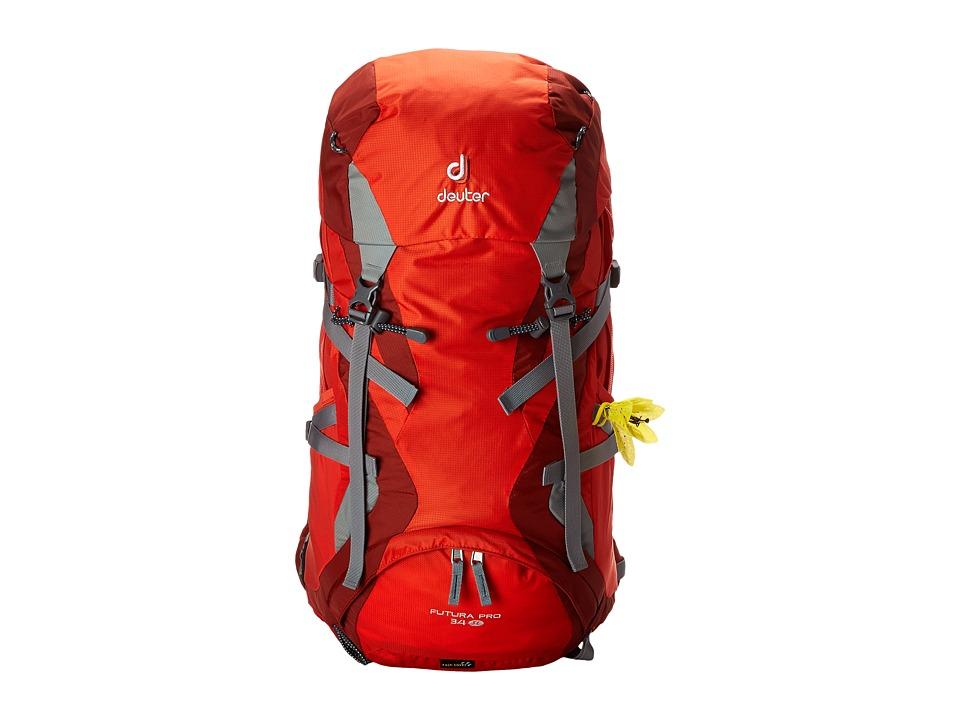 Deuter Futura Pro 34 SL Papaya/Lava Backpack Bags
