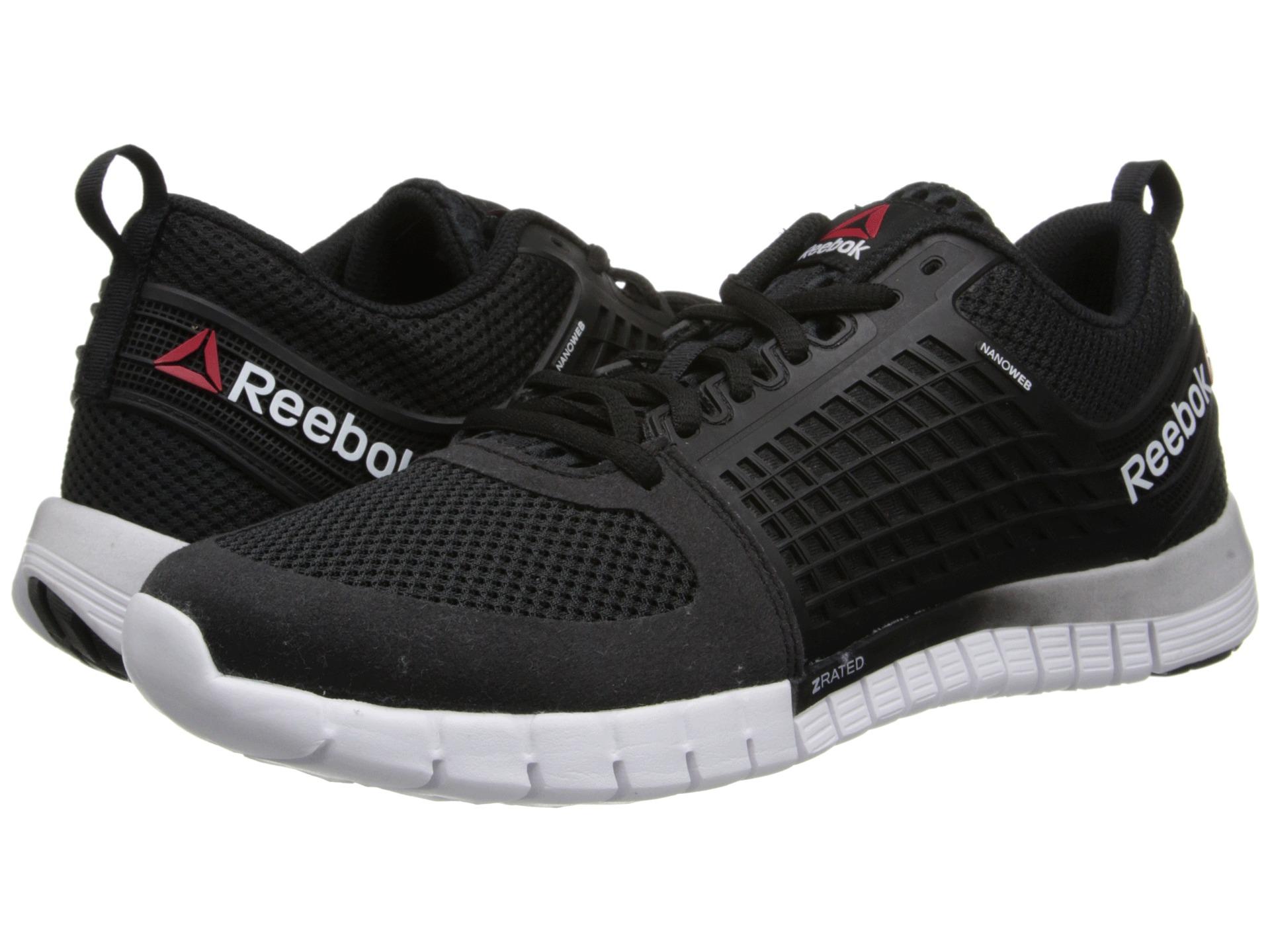 Reebok Z Quick Running Shoes Black Steel White