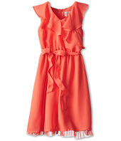 Us Angels - Sleeveless Ruffle Front Waisted Dress (Big Kids)