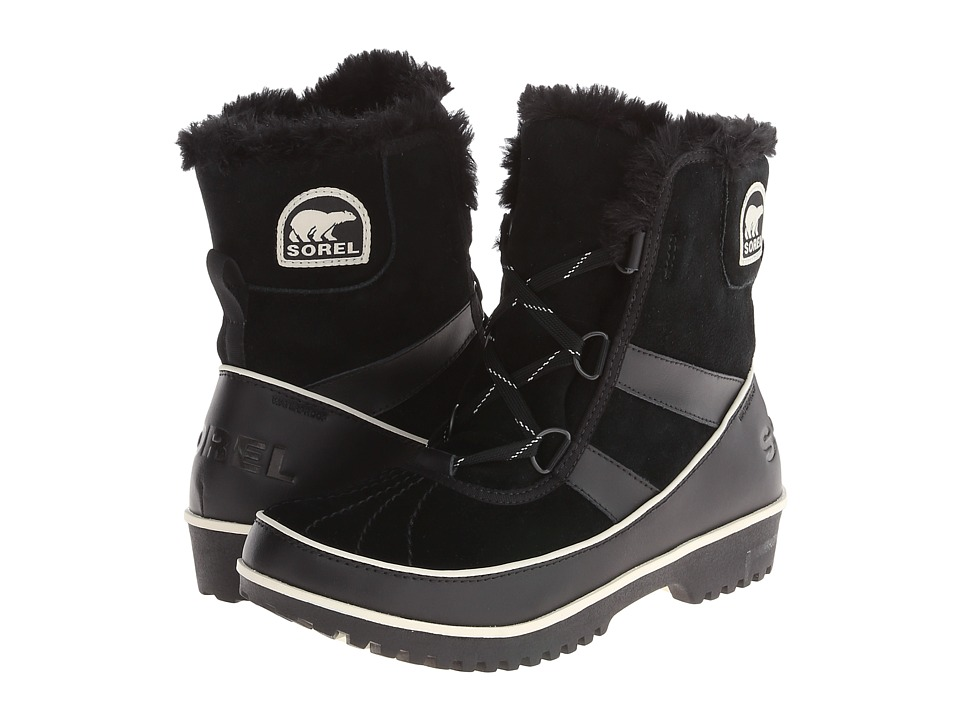 SOREL - Tivoli II (Black Suede) Women