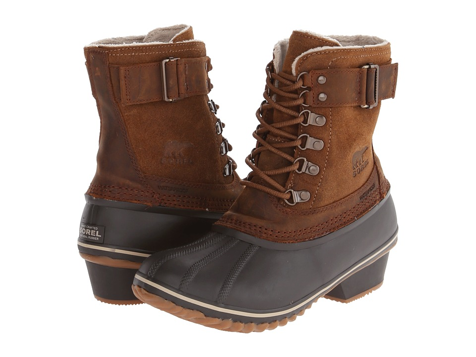 SOREL Winter Fancy Lace II (Elk/Grizzly Bear) Women