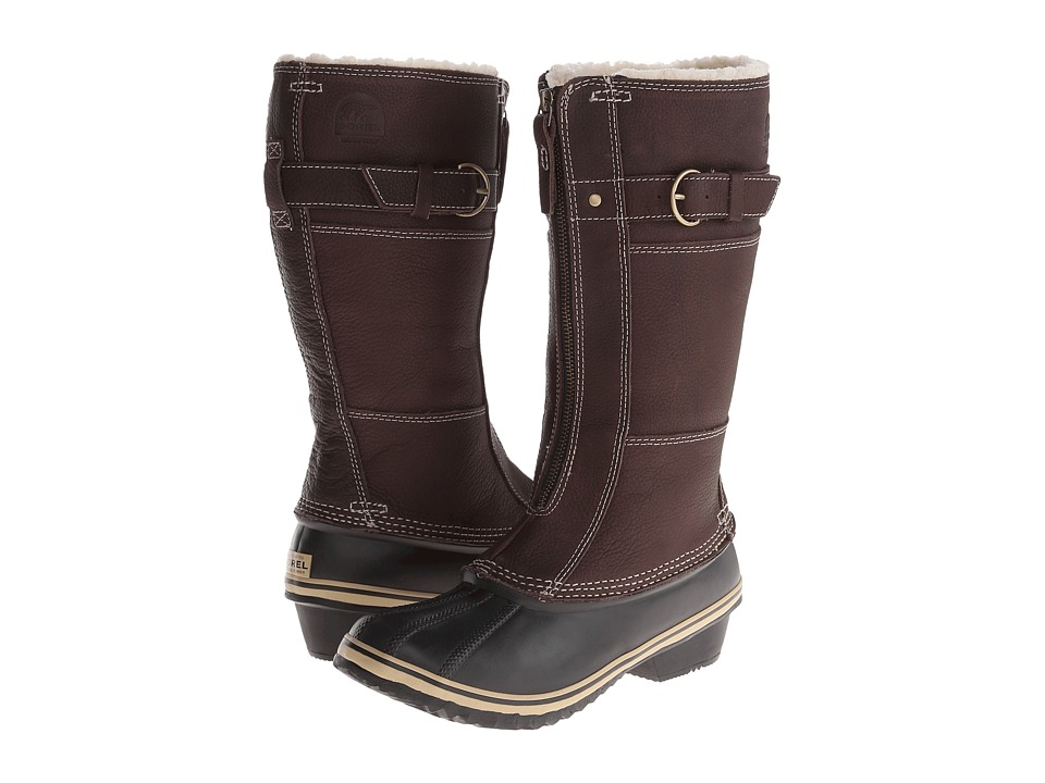 SOREL Winter Fancy Tall II (Grizzly Bear/Black) Women