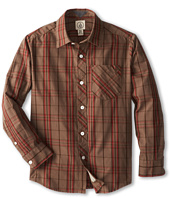 Volcom Kids - Weirdoh Plaid L/S Woven (Big Kids)