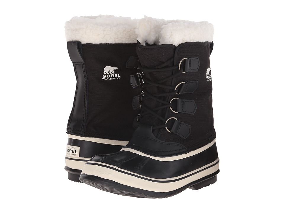 SOREL Winter Carnivaltm (Black/Stone) Women's Cold Weather Boots