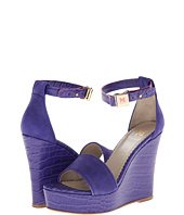 M Missoni - Suede/Leather Embossed Wedge