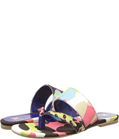M Missoni - Camouflage Animal Print Canvas Thong Sandal