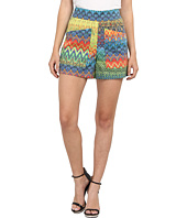 M Missoni - Zig Zag Print Cotton Stretch Shorts