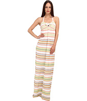 M Missoni - Ribbon Stripe Knit Maxi Dress