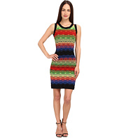 M Missoni - Color Block Ripple Stitch Tank Dress