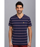 U.S. POLO ASSN. - W Strip V-Neck T-2N