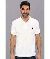 U.S. POLO ASSN. - Solid Slub Polo