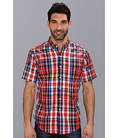 U.S. POLO ASSN. - S/S Woven Medium Plaid