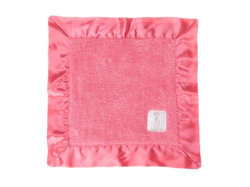 Little Giraffe Chenille Baby Blanky Raspberry Sheets Bedding