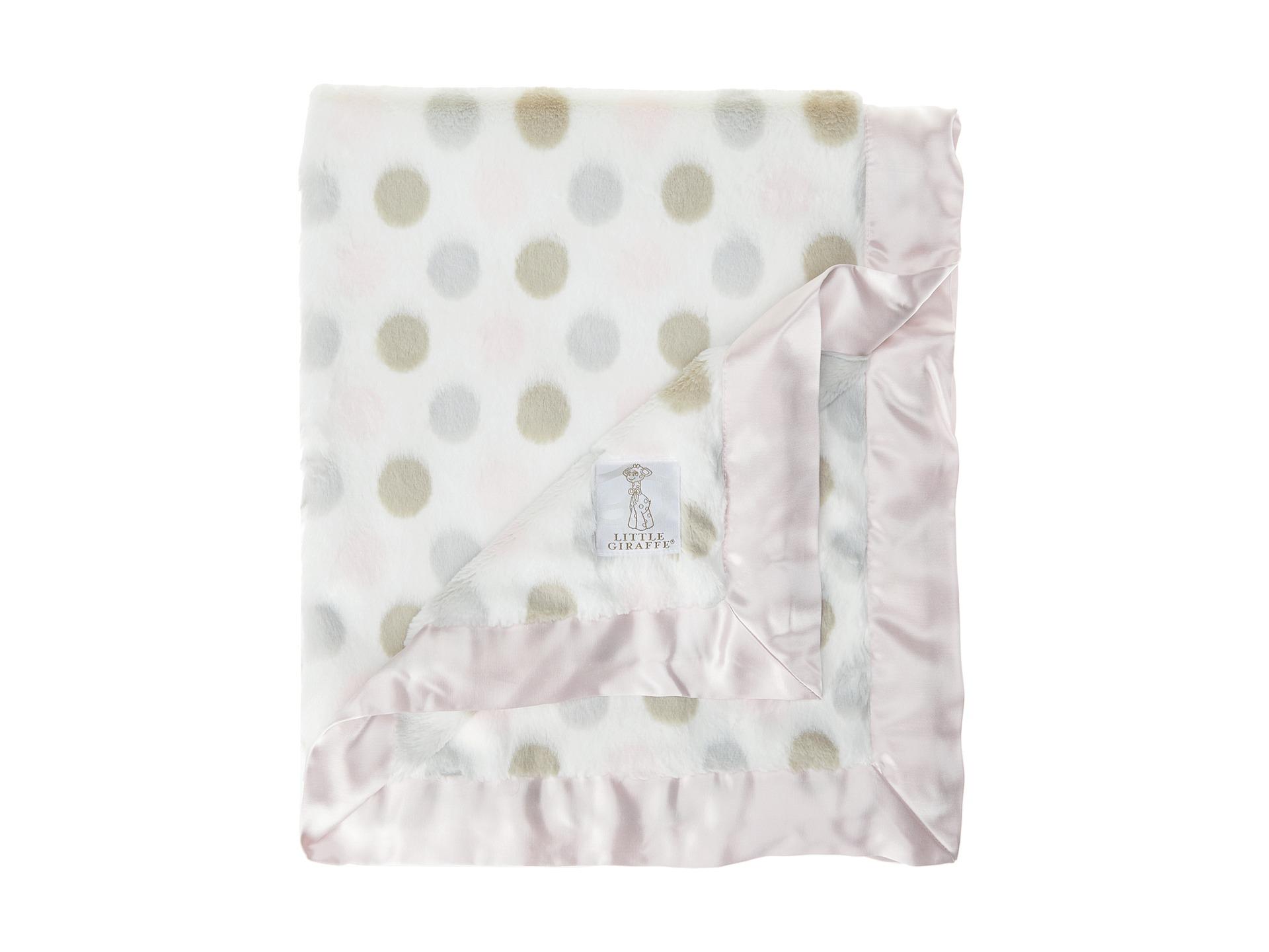 Luxe Giraffe Baby Blanket