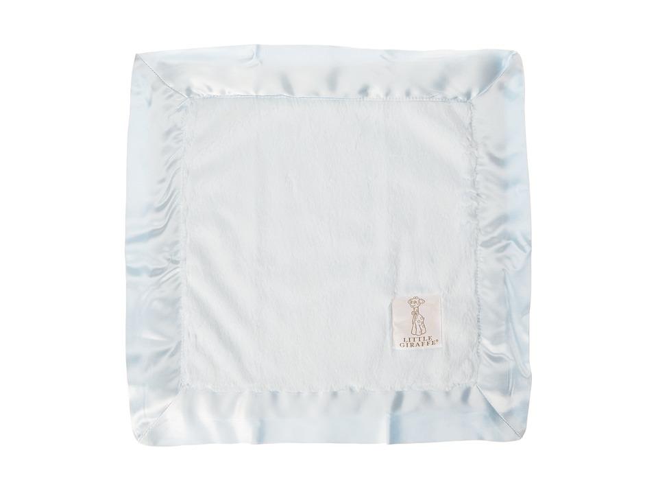Little Giraffe Luxe Baby Blanky (Blue) Sheets Bedding