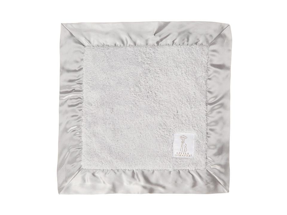 Little Giraffe Chenille Baby Blanky Silver Sheets Bedding