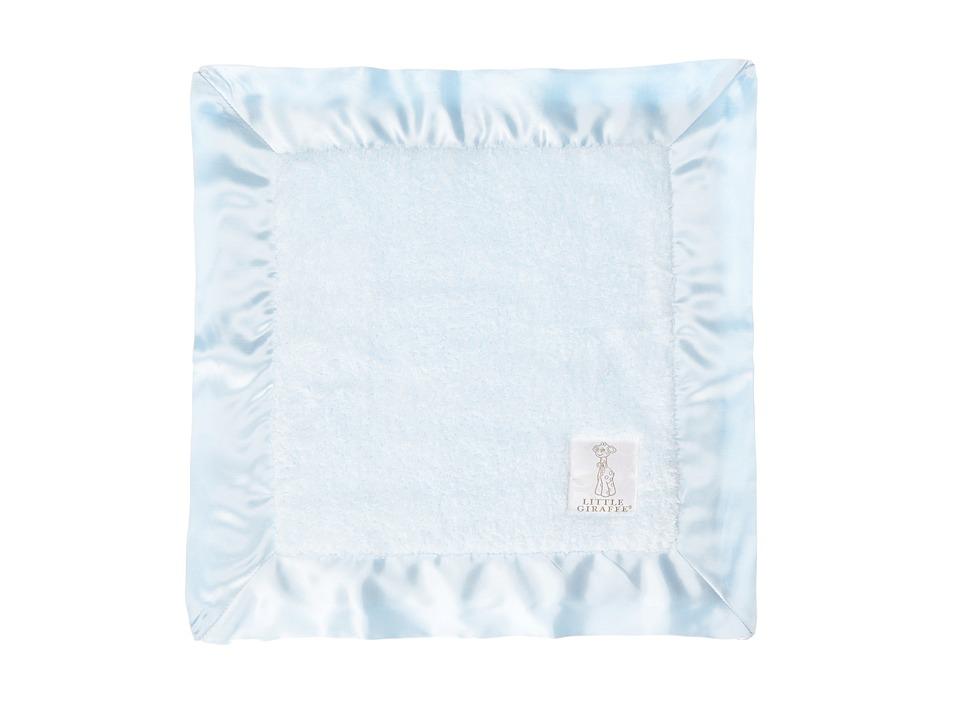 Little Giraffe Chenille Baby Blanky (Blue) Sheets Bedding