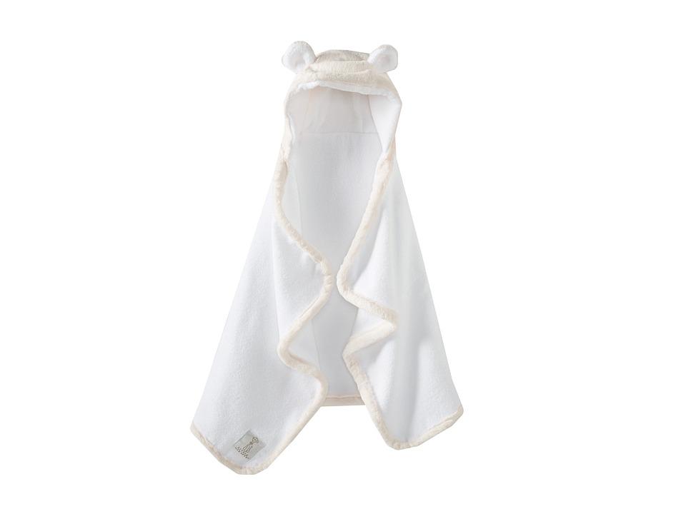 Little Giraffe Luxe Towel with Ears (Pink) Bath Towels
