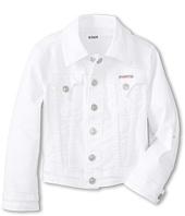 Hudson Kids - Classic Denim Jacket in White (Little Kids)