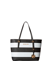 MICHAEL Michael Kors - Jet Set Stripe Small Travel Tote