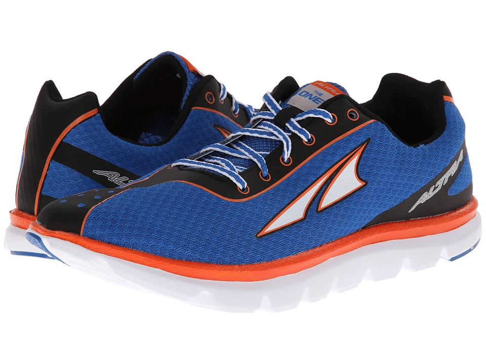 Altra Zero Drop Footwear - One 2 (Blue/Neon) Men's Running Shoes
