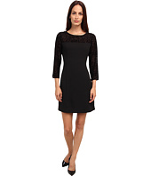 Armani Jeans - Fitted Top Lace And Sleeve Dress