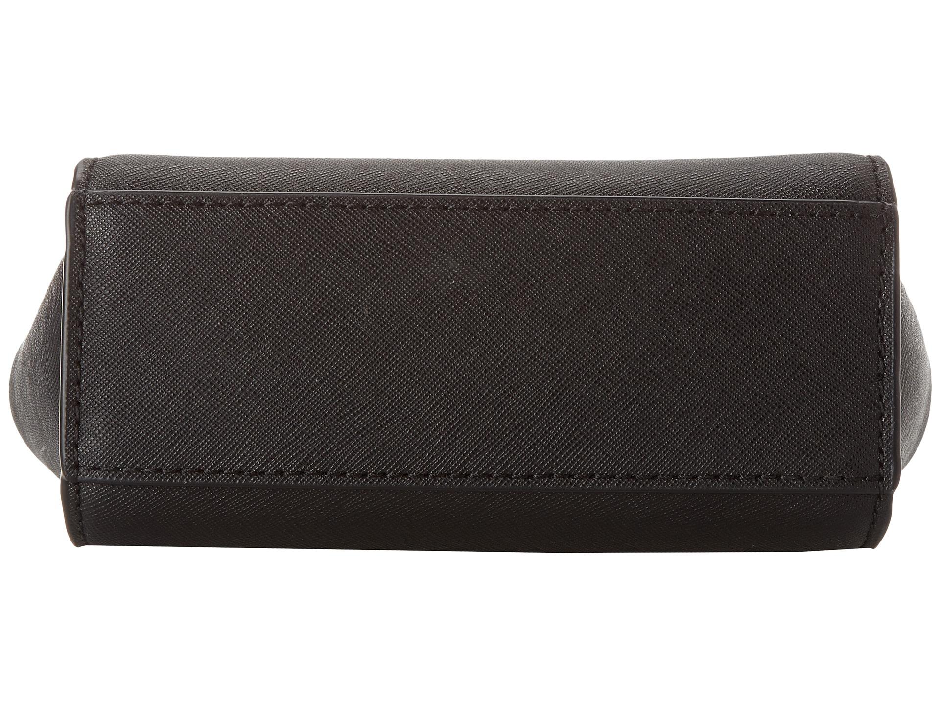 michael michael kors selma mini messenger black 1 zappos. Black Bedroom Furniture Sets. Home Design Ideas
