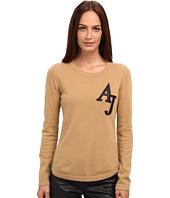 Armani Jeans - Varsity Crew Neck Cashmere Sweater