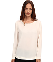 Armani Jeans - Silk Blouse with Crystal Neck Detail