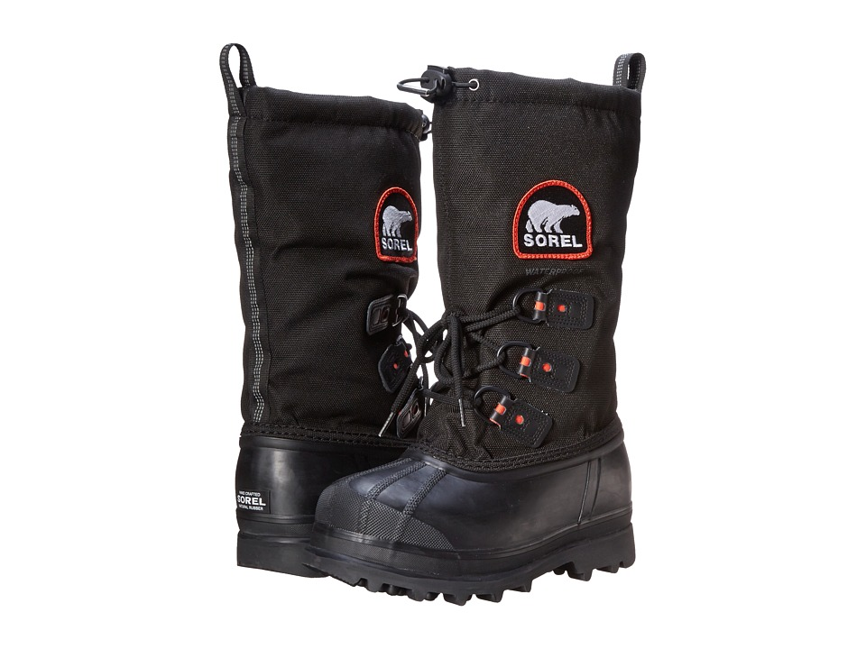SOREL Glaciertm XT (Black/Red Quartz)