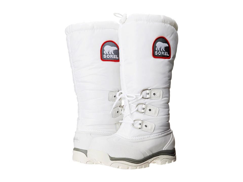 SOREL - Snowliontm XT (White/Red Quartz) Womens Boots